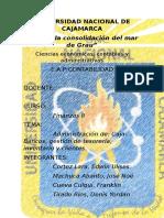 GRUPO 9 Admin. Caja Bancos Tesoreria Inventario y Clientes