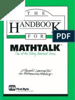 MathTalk Manual