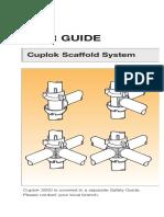 User Guide SGB Cuplock Scaffold System