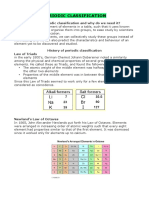 Periodic Classification