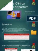 Historia Clínica Médico Deportiva
