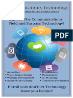 communications technology poster