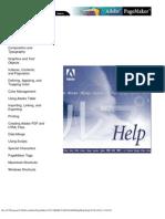 Adobe PageMaker Help