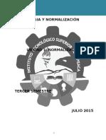 UNIDAD 1 Normalización