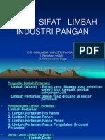 2 Karakteristik Limbah Industri Pangan