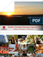 Palestra Outdoor Training e Educacao Experiencial
