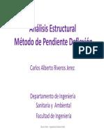 Clase 06 - Método Pendiente-Deflexión.pdf