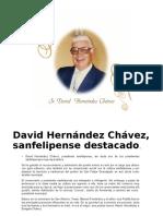 David Hernandez Araiza Presidente Municipal