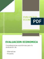 Evaluación económica.