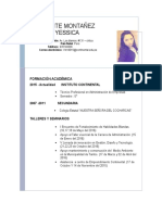 Curriculum Yesica Puente