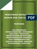 Peraturan Bpkp Per 709 k Jf 2009