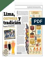 Lima, cerveza y tradición