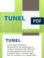 Túneles hidráulicos