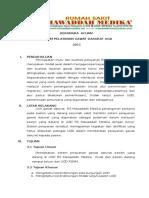 Kerangka Acuan Sistem Pelayanan Pasien 2011