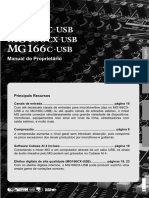 Manual MG206c USB