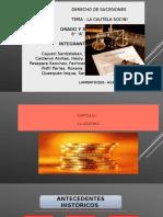 La Cautela Socini - Diapositivas