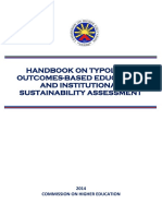 CHED Handbook on Typology%2C OBE and ISA