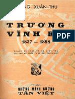 (1957) Trương Vĩnh Ký 1837 - 1898 - Khổng Xuân Thu