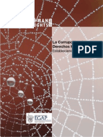La Corrupción y Derechos Humanos. Consejo Internacional para el Estudio de los Derechos Humanos (CIEDH) - International Council on Human Rights Policy (ICHR). 2009