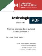 Toxicología Practica Seguridad
