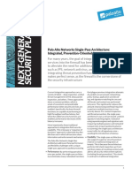 Single Pass Parallel Processing Architecture