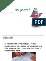 Tipos de Parrafos