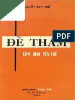 (1961) Đề Thám Con Hùm Yên Thế - Nguyễn Duy Hinh