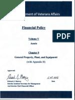 VA FinancialPolicyVolumeVChapter09