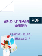 Workshop Penggalangan Komitmen