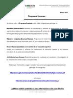 Programa Erasmus 2017