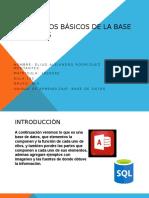 Presentación de Base de Datos