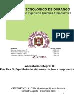 Práctica 3 - Equilibrio Sist 3 Componentes