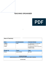 Teaching Organiser (Edited)
