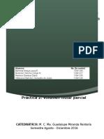 Práctica 2 - Volumen Molar Parcial