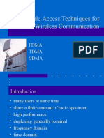 Tdma and Fdma