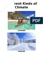 Different Kinds of Climate