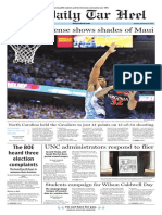 The Daily Tar Heel for Feb. 20, 2017
