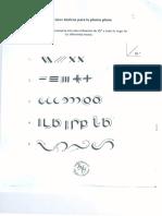 Letra Fundamental. Ejercicios de caligrafía.0001-2