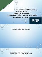 Análisis de Procedimientos y Accesorios