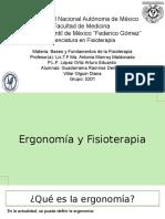 Ergonomía y Fisioterapia