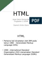 Nota Pembelajaran HTML