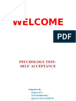 Psychology Test