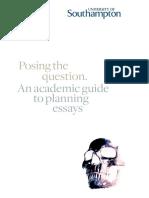 2f95ba59097c0d13f2ff29e5e1434595- 3558 UoS Academic Guide - Posing the Question v3 111109 Web
