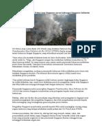 UU Polusi Asap Singapura Ancam Hubungan Singapura