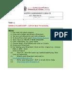 Summative Assessment- Practcal Flowchart