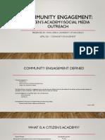 community engagement pdf