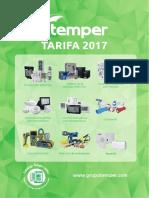 201702 Temper Tarifa 2017