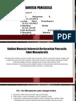MANUSIA PANCASILA
