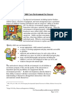 Creating Childcare Environment for Success