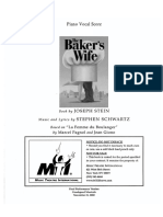 Baker's Wife, The - Full Score